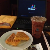 Photo taken at Caribou Coffee by Abdulrahman on 5/20/2012