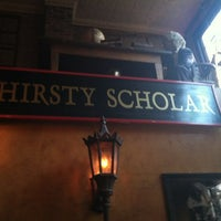 Photo taken at Thirsty Scholar by Josh A. on 5/11/2012
