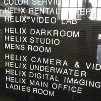 Photo taken at Helix Camera by Maureen on 4/12/2012