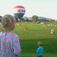 Photo taken at Sandy City Balloon Festival by Andrew R. on 8/11/2012