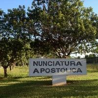 Photo taken at Nunciatura Apostólica - Sede da Santa Sé no Brasil by Rafael A. on 5/18/2012