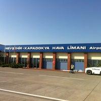 Photo taken at Nevşehir Kapadokya Airport (NAV) by monet819 on 8/2/2012