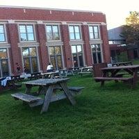 Photo taken at Bishop's Quad by Sophie B. on 5/7/2012