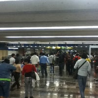 Photo taken at Metro Zócalo by Erik B. on 5/26/2012