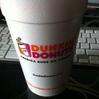 Photo taken at Dunkin' Donuts by Zachary L. on 8/1/2012