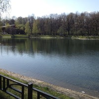 Photo taken at Останкинский садовый пруд by Сергей В. on 4/28/2012
