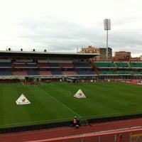 "Photo taken at Stadio Cibali ""Angelo Massimino"" by Alfio F. on 3/11/2012"