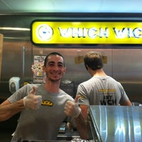 Photo taken at Which Wich? Superior Sandwiches by katherine m. on 3/30/2012