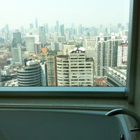 Photo taken at Pullman Shanghai Skyway Hotel by Malachi F. on 3/25/2012