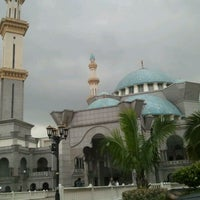 Photo taken at Masjid Wilayah Persekutuan by usofmad on 3/6/2012