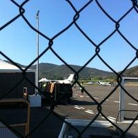 Photo taken at Aeroporto Marina di Campo by Claudia L. on 8/4/2012