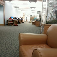 Photo taken at David L. Rice Library by Ryan W. on 2/9/2012