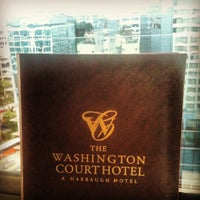 Photo taken at Washington Court Hotel by Tony C. on 7/12/2012