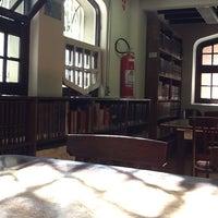 Photo taken at Biblioteca George Alexander by Mariana M. on 2/14/2012