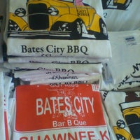 Photo taken at Bates City BBQ by Amy A. on 8/30/2012