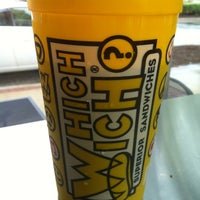 8/24/2012에 Jeff U.님이 Which Wich? Superior Sandwiches에서 찍은 사진