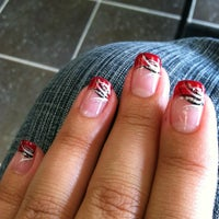 Photo taken at Forever French Nails & Organic Salon by Shannon O. on 6/16/2012