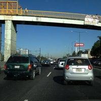 Photo taken at Calzada Ignacio Zaragoza by Daniel C. on 4/3/2012