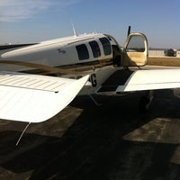Photo taken at Waukesha County Airport (UES) by Marshall Auto Body on 3/14/2012