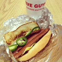 Photo taken at Five Guys by Jeremy S. on 3/13/2012