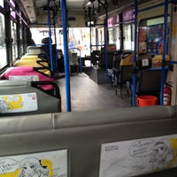Photo taken at 신촌로터리 14-165 버스 정류장 by Suaa L. on 3/9/2012