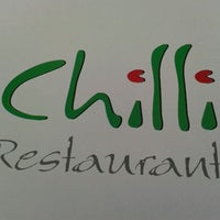 Photo taken at Chilli Restaurant by Matej M. on 4/15/2012