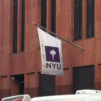 Photo taken at NYU 726 Broadway Building by Julian C. on 4/3/2012