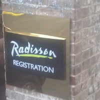 Photo taken at Radisson Hotel Harrisburg by Karen M. on 8/18/2012
