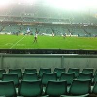 Photo taken at Allianz Stadium by David H. on 3/17/2012