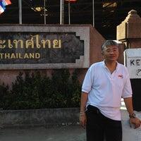 """8/14/2012に""""Peyk"""" O.がด่านพรมแดนสะเดา (Dan Nok Immigration Check Point)で撮った写真"""