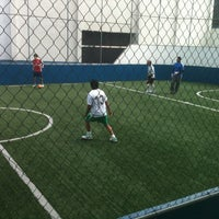 Photo taken at CJU Soccer 5 by Victor L. on 8/25/2012