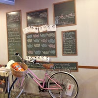 Photo taken at Crumbs. by Nisa M. on 4/21/2012