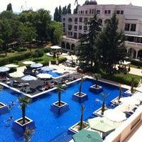 "Photo taken at Grand Hotel & Spa ""Primoretz"" by Mathias T. on 7/29/2012"