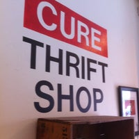 Photo taken at Cure Thrift Shop by Rye R. on 8/17/2012