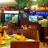 Photo taken at La Casa del Chef by Kano G. on 2/14/2012