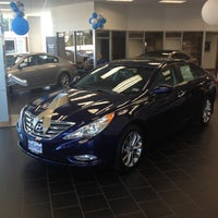 Photo taken at South Point Hyundai by Enrique R. on 9/4/2012