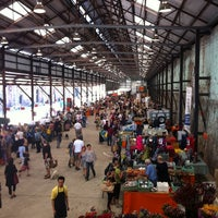 Photo taken at Eveleigh Market by Leanne Y. on 3/9/2012