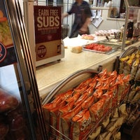 Photo taken at Jersey Mike's Subs by Cathy V. on 5/1/2012