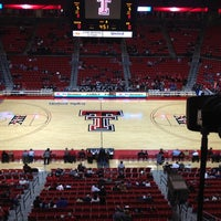 Photo taken at TTU - United Supermarkets Arena by Chad S. on 2/12/2012