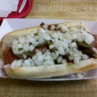 Photo taken at Dam Dogs by Chris K. on 5/27/2012