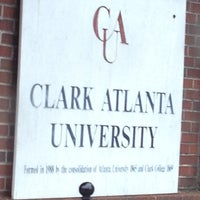 Photo taken at Clark Atlanta University by Miss Nellom on 9/4/2012