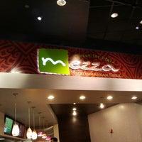Photo taken at Mezza Mediterranean Grill by Victor S. on 8/26/2012