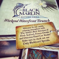 Photo taken at Black Marlin Bayside Grill by Zachary W. on 8/26/2012