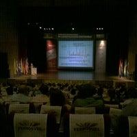 Photo taken at Teatro Metropolitano by Juan Camilo J. on 8/22/2012