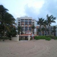 Photo taken at Wyndham Grand Rio Mar Beach Resort & Spa by Dwayne B. on 4/4/2012