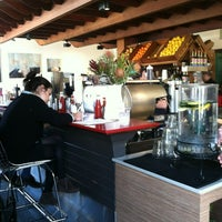 Photo taken at Dolores Park Cafe by Rosemarie M. on 3/5/2012