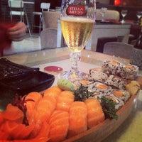 Photo taken at Gokan Sushi Lounge by Denise B. on 4/7/2012
