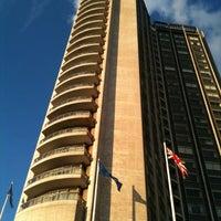 Photo taken at London Hilton on Park Lane by Denise M. on 9/11/2012