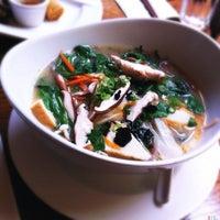 Photo taken at Wild Ginger Pan-Asian Vegan Cafe by Kate T. on 9/1/2012