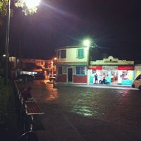Photo taken at Parque Central de Antiguo Cuscatlán by Bobby R. on 7/19/2012